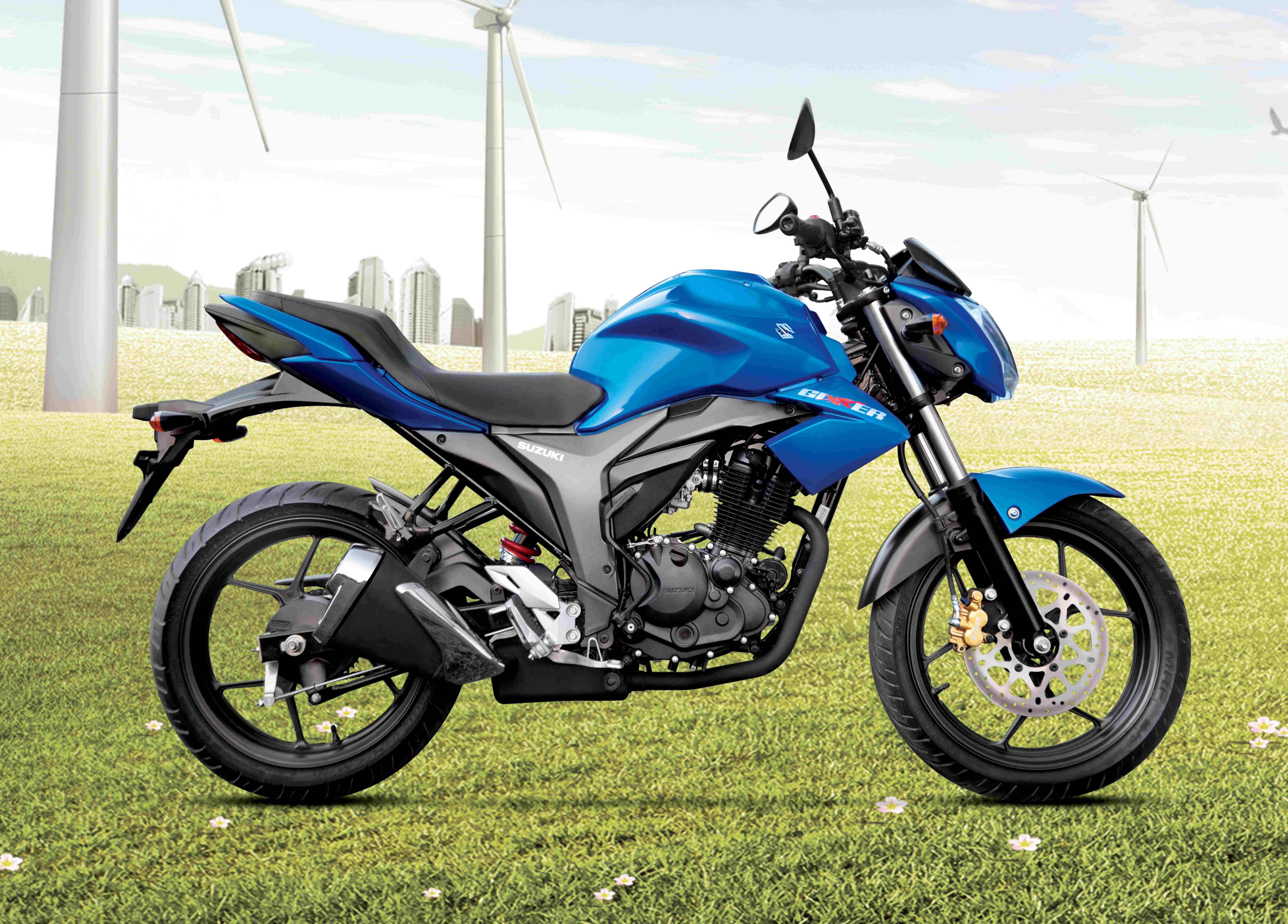 suzuki two-wheelers unveils two new offerings: the 'gixxer