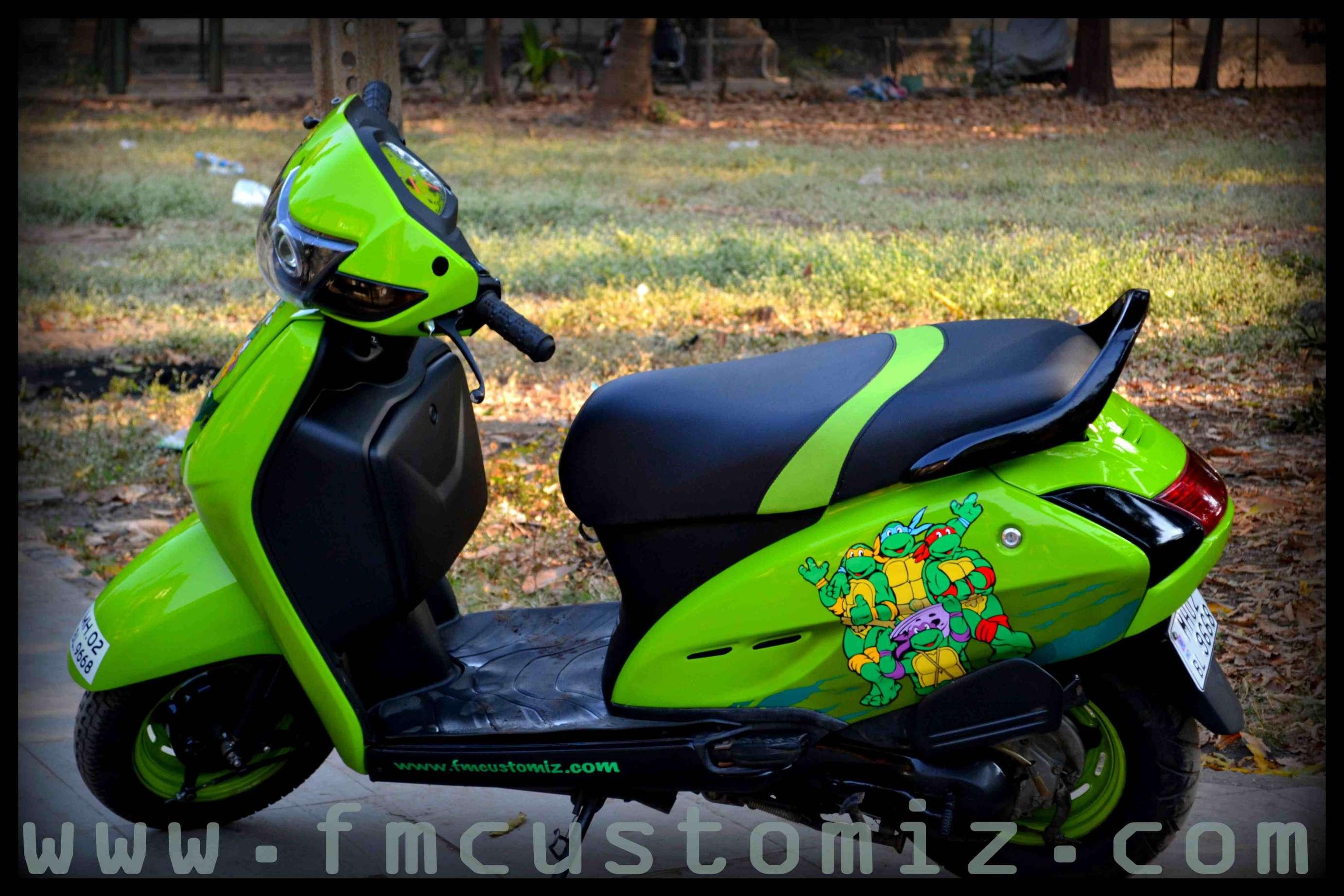 Bike Modified Graphics High Street Phoenix ho...