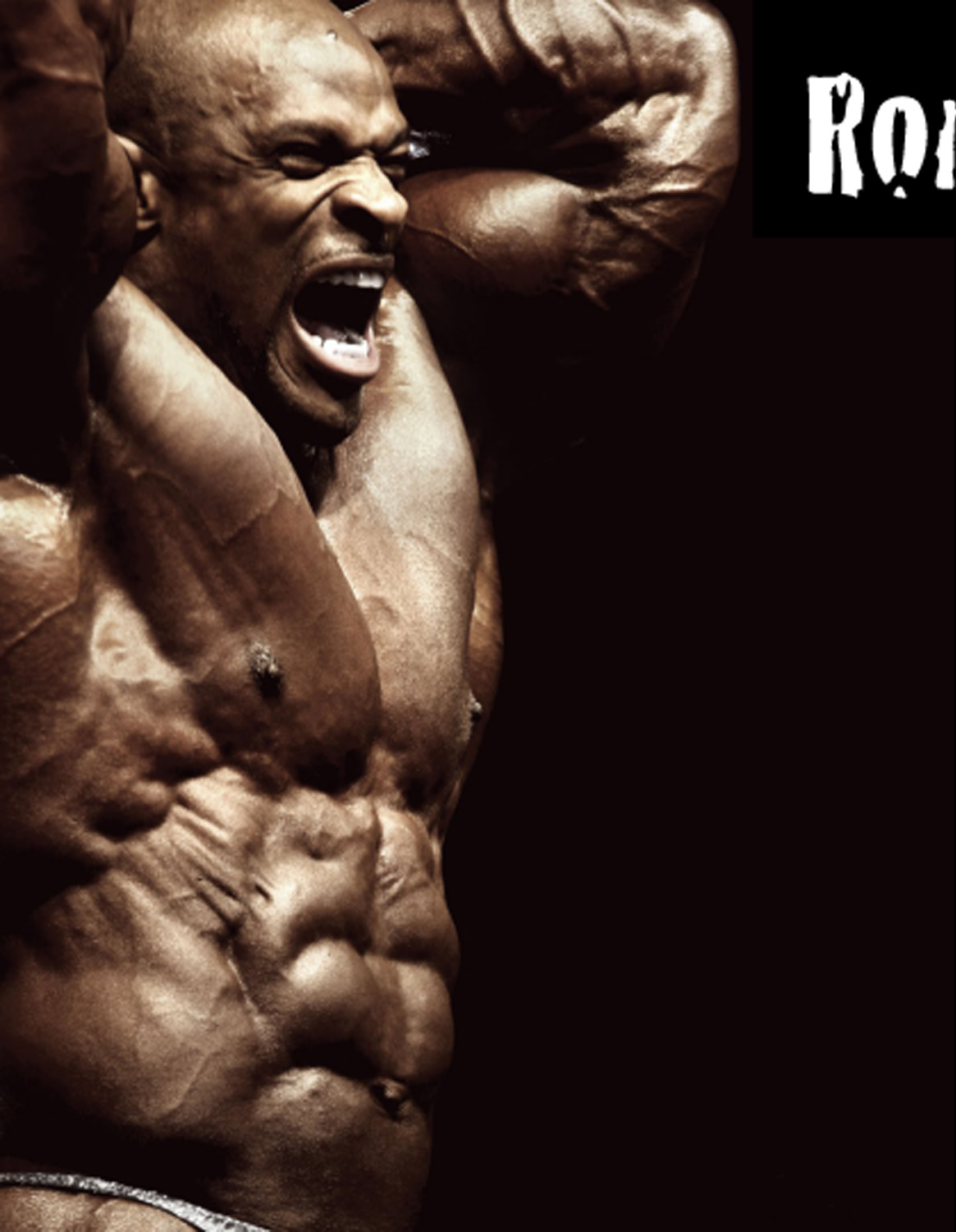 Ronnie Coleman from USA,Worlds biggest body builder,police
