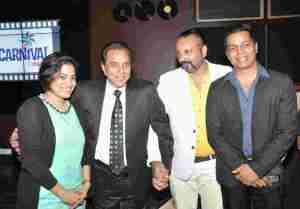 L to R - Vaishali Sarwankar, Dharmendra, Gagan Sharma & Shrikant Bhasi