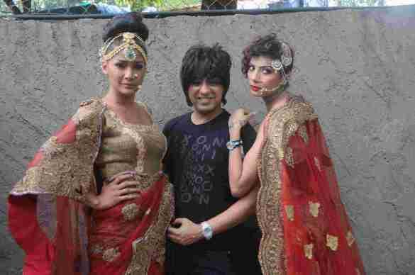 11. Carol Gracias with Rohhit Verma and Diandra Soares DSC_8873