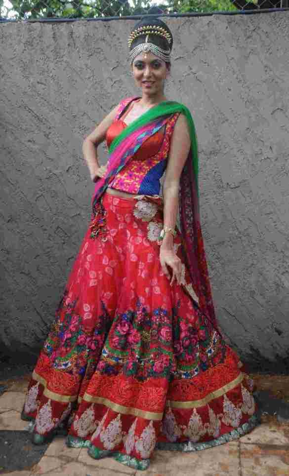 18. Shriya Kishore in Rohhit Verma's Outfit  DSC_8742