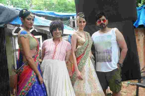 22. Sheela Tiruchi, Faisal Reza, with Rohhit Verma,  and Alesia Raut   DSC_8254
