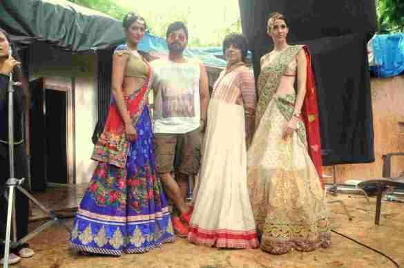7. Sheela Tiruchi, Faisal Reza, with Rohhit Verma,  and Alesia Raut  DSC_8275