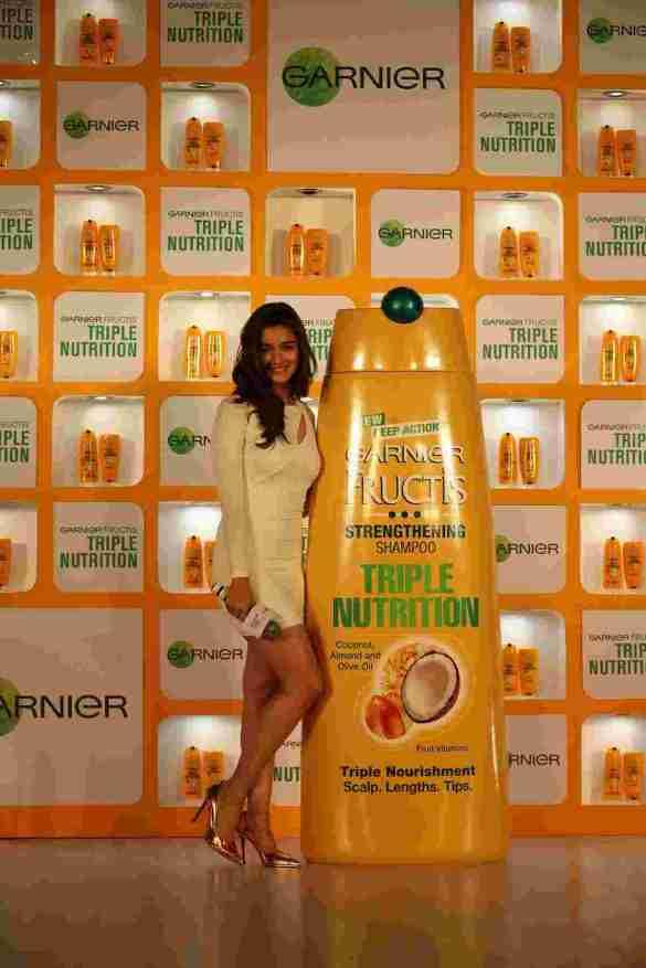 Alia Bhatt at the Garnier Triple Nutrition Press Conference 2