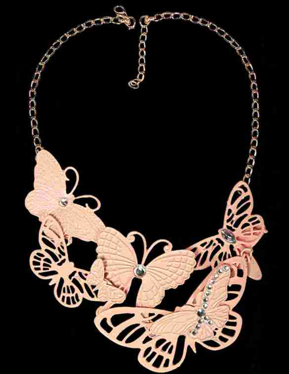 Butterfly neckpiece from Trendy Divva, Price Rs. 995