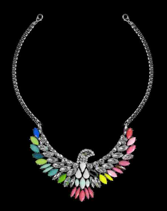 Colorful Eagle neckpiece from Trendy Divva, Price Rs. 1095