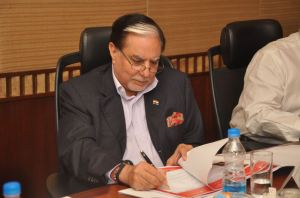 Mr. Subhash Chandra - Chairman of Zee Entertainment Enterprises Limited and Promoter of the Essel Group of Companies
