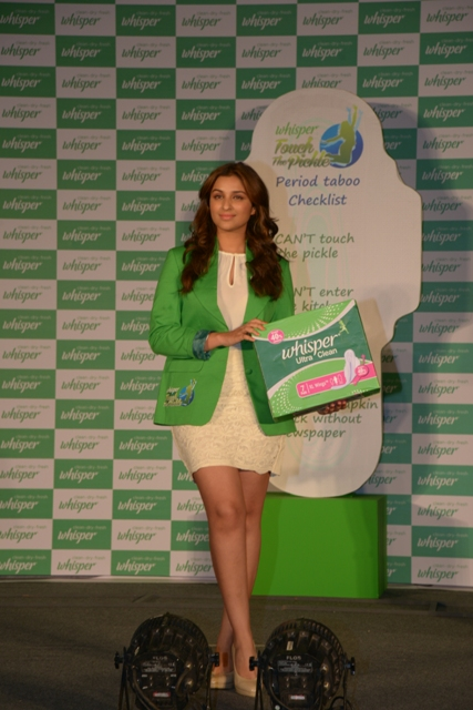 PARINEETI WITH THE PERIOD TABOO CHECK LIST