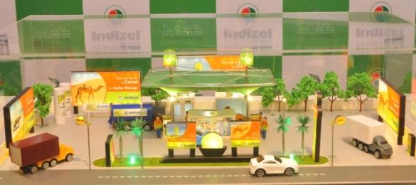 Scale Model of Indizel Station