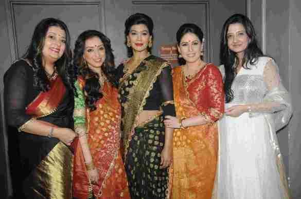 2. Isheeta Ganguly (Writer, Director  & Musical Composer), Madhurima Nigam, Dipika Roy, Amrita Raichand & Amy Billimoria   DSC_9305
