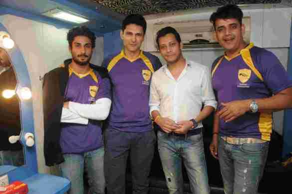 5. Prateik Babbar, Niketan Madhok, Mayank Singh, Ravi Kishan DSC_2060
