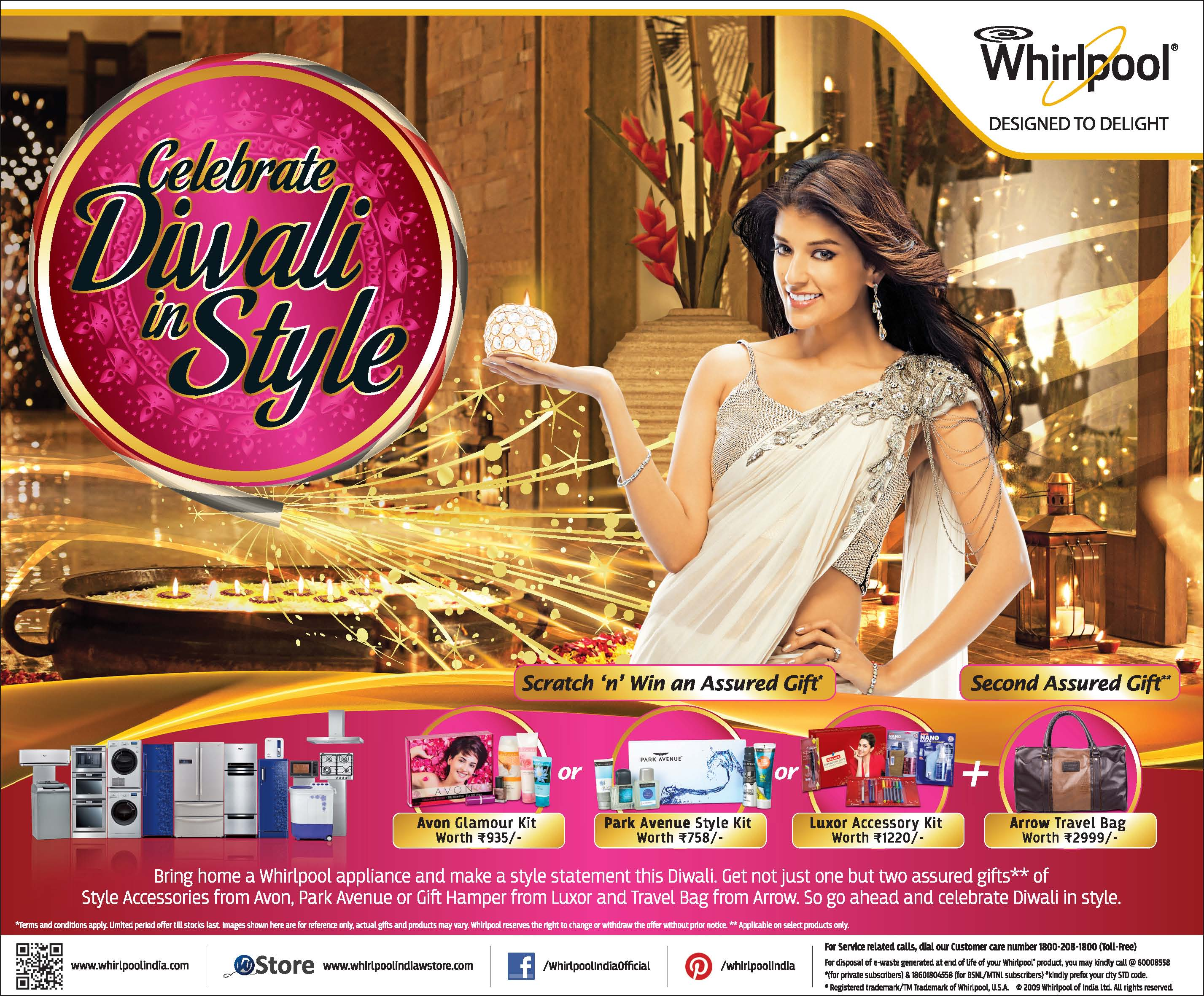 Celebrate this Diwali in your stylish best with Whirlpool – ORIENT ...
