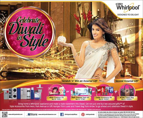 Celebrate Diwali Press Ad ctc