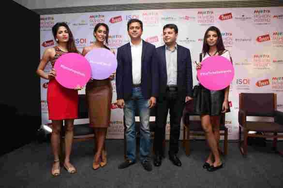 Parvathy Omanakuttan,Lisa Haydon, Mukesh Bansal CEO Myntra & Fashion Head,Flipkart, Saket Dhankar,Fashion Head , IMG and Arshia Ahuja