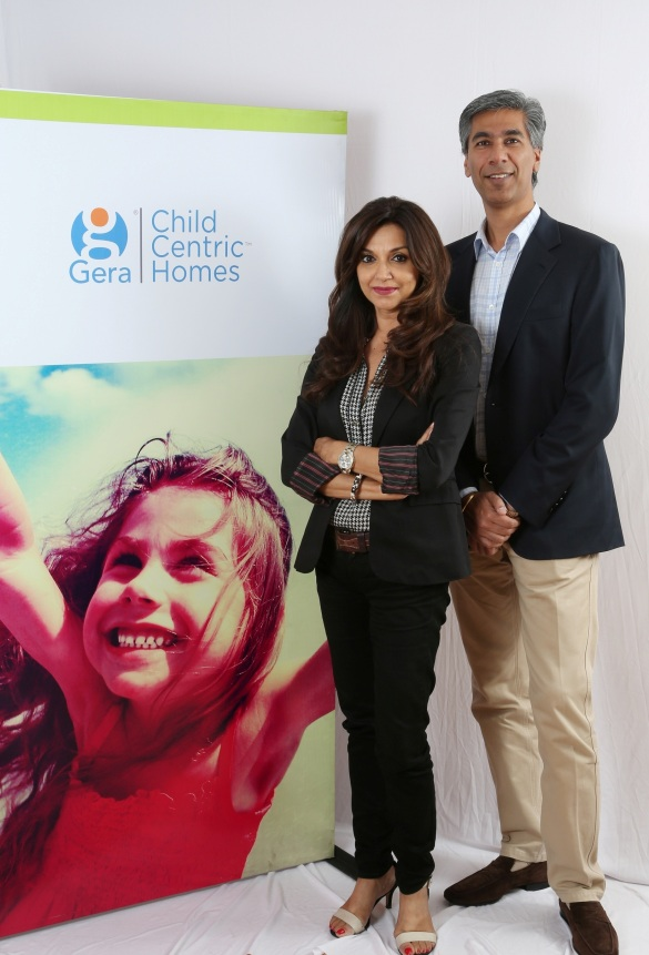 Actress & Theatre Personality Lillete Dubey with Rohit Gera, MD, Gera Developments