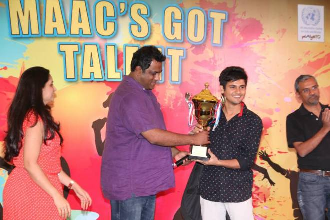 Anurag Basu at 'MAAC's got talent'