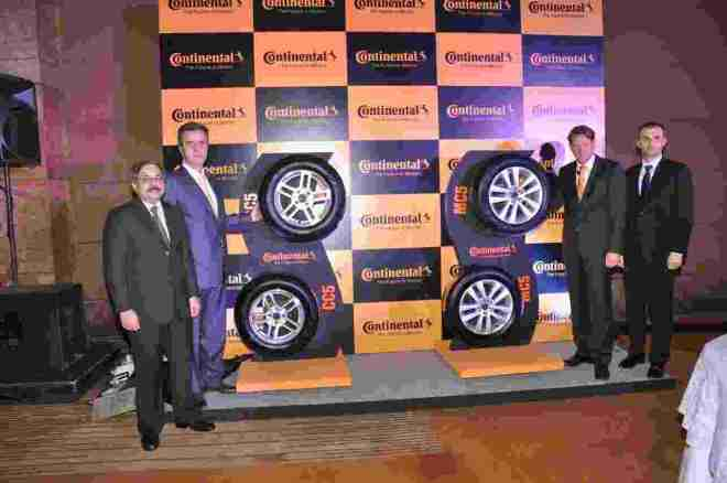 Continental Tyre launch