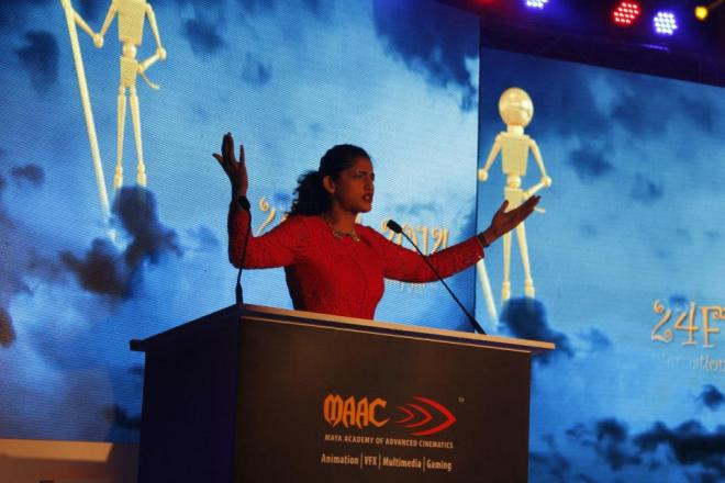 Kubra Sait hosted MAAC's 11th 24 FPS International Animation Awards