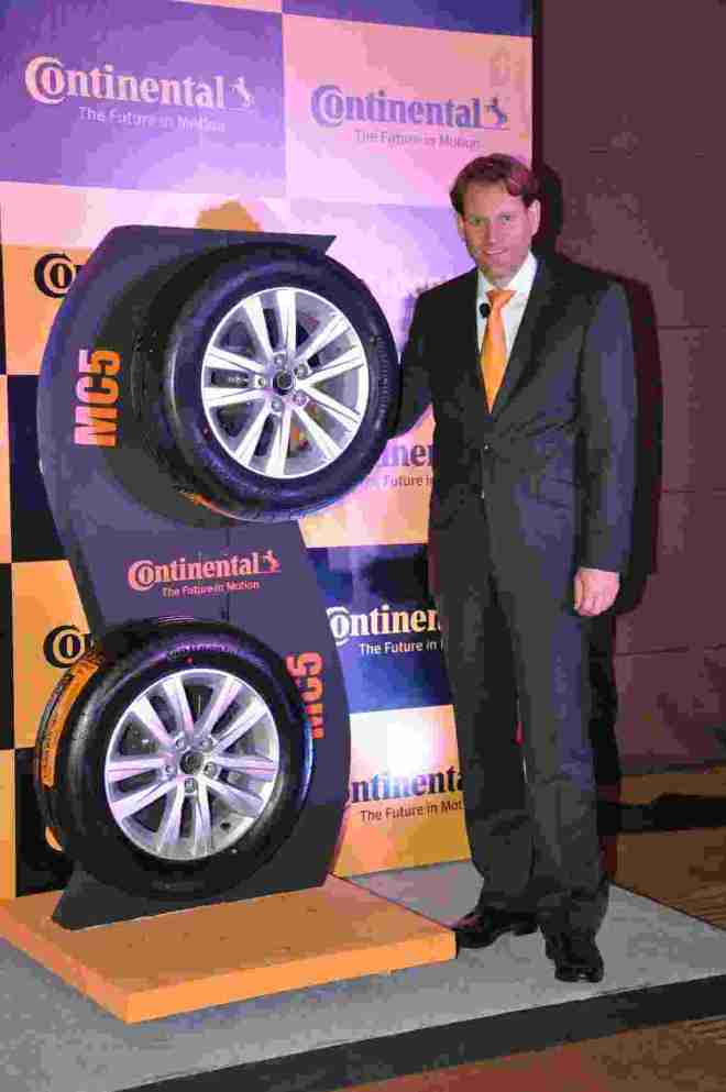 Nikolai Setzer,Member of Executive board and Head of Tire Division, Continental India