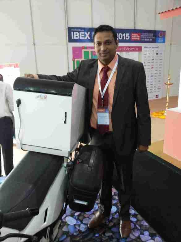 Mr.Khadeer Peer Shariff,Executive Director, Leo Prime Payment Soultions Pvt Ltd