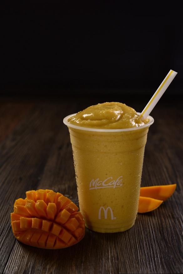 McCafe- Real Fruit Smoothies- Mango