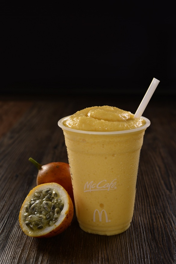 McCafe- Real Fruit Smoothies- Passion Fruit