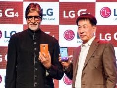 Amitabh Bachchan launches LG-G4