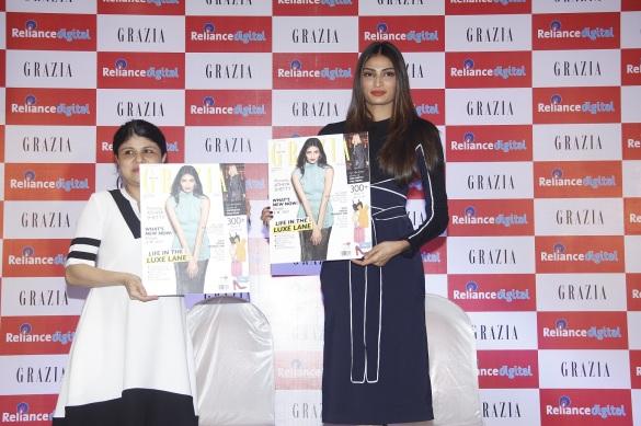 Mehernaaz Dhondy, Editor Grazia and Athiya Shetty