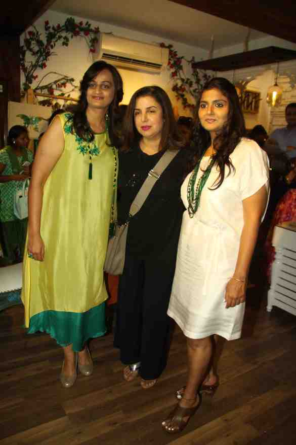 Farah Khan with Bhumika & Jyoti
