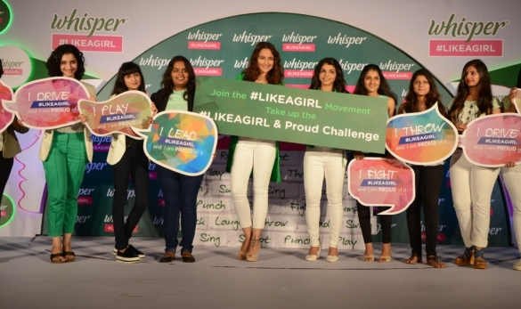 sonakshi-sinha-and-sakshi-malik-joined-the-whisper-movement-and-announced-the-likeagirl-proud-challenge