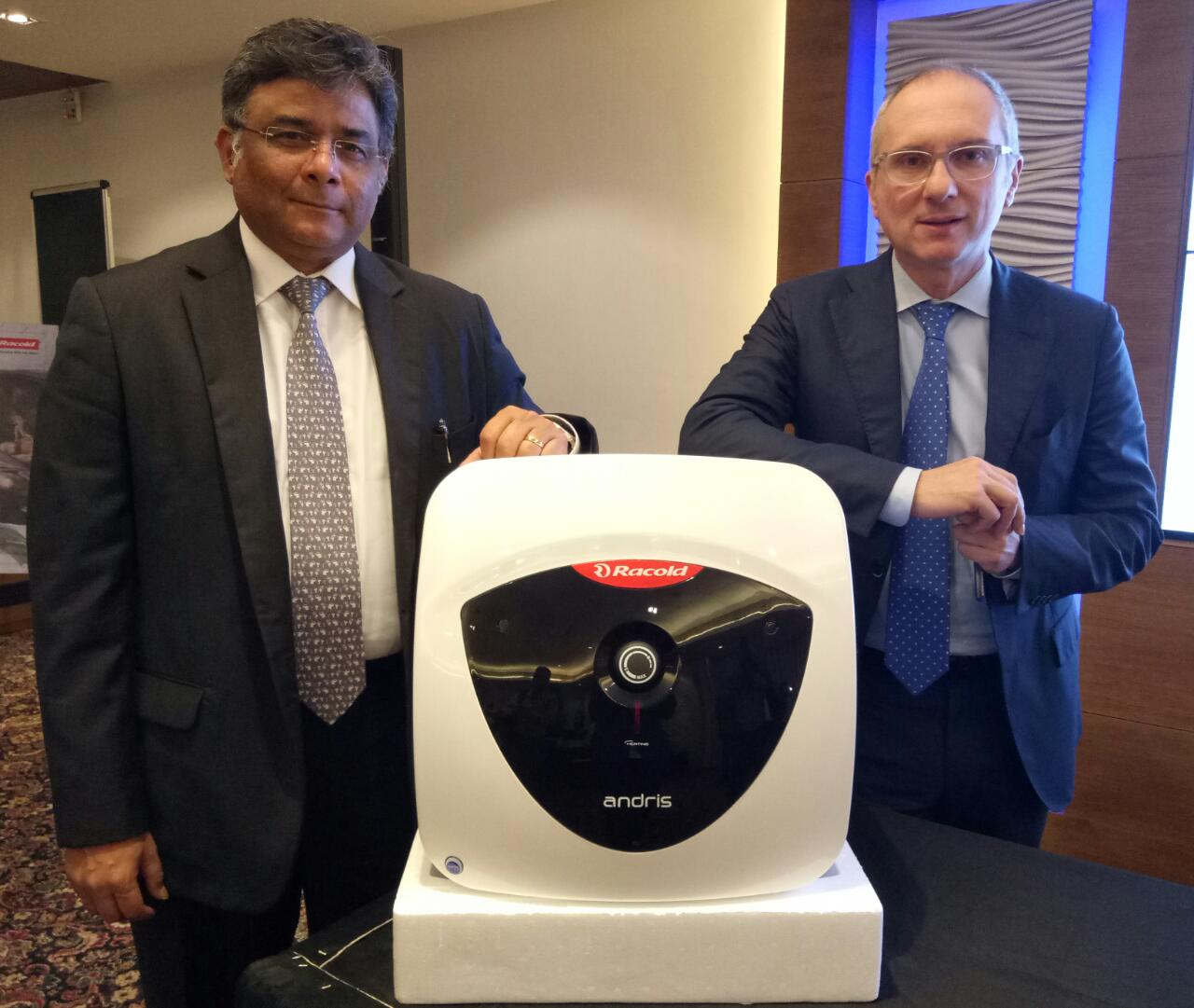Racold Launches Andris Range Of Water Heaters Orient Publication Ariston An 15rs 350 Watt Heather