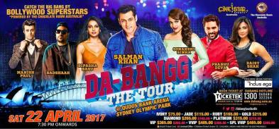 DA BANG -The Tour POSTER