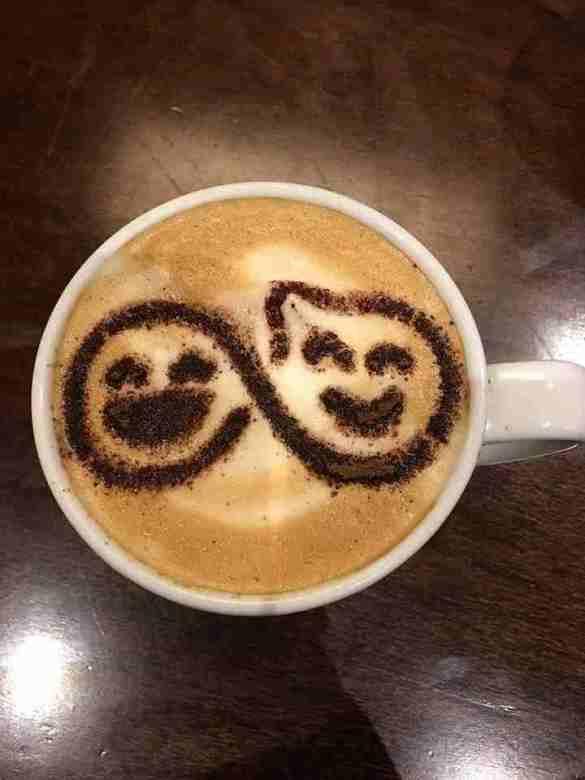 Friendship Day- Stencil Latte Art