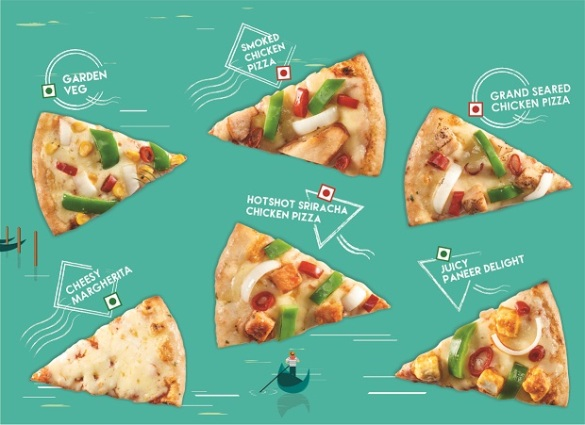 New authentic Italian pizzas at Cafe Coffee Day